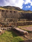 The ruins at Sacsayhuaman.