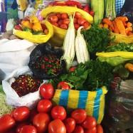 Produce at the San Pedro Market