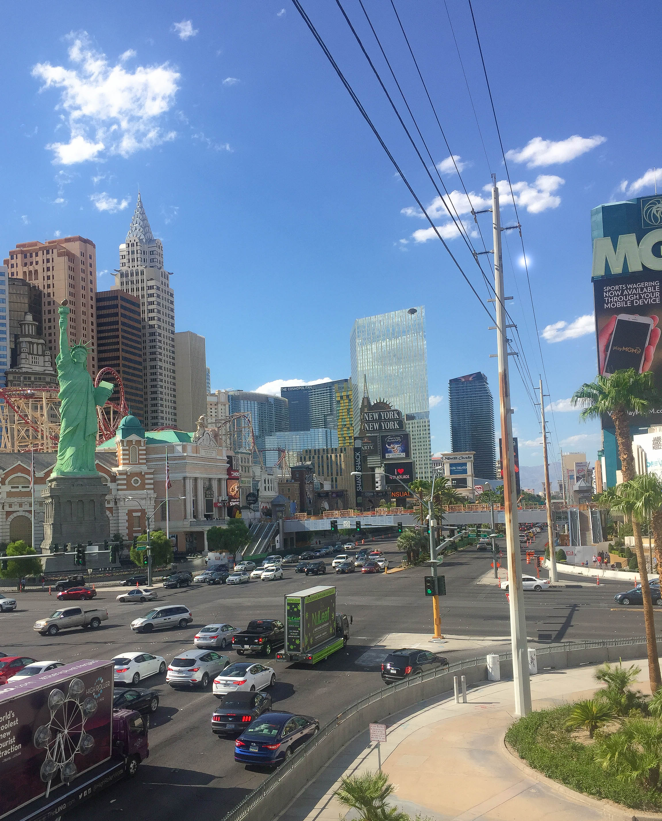 MGM Sky Bridge_Las Vegas